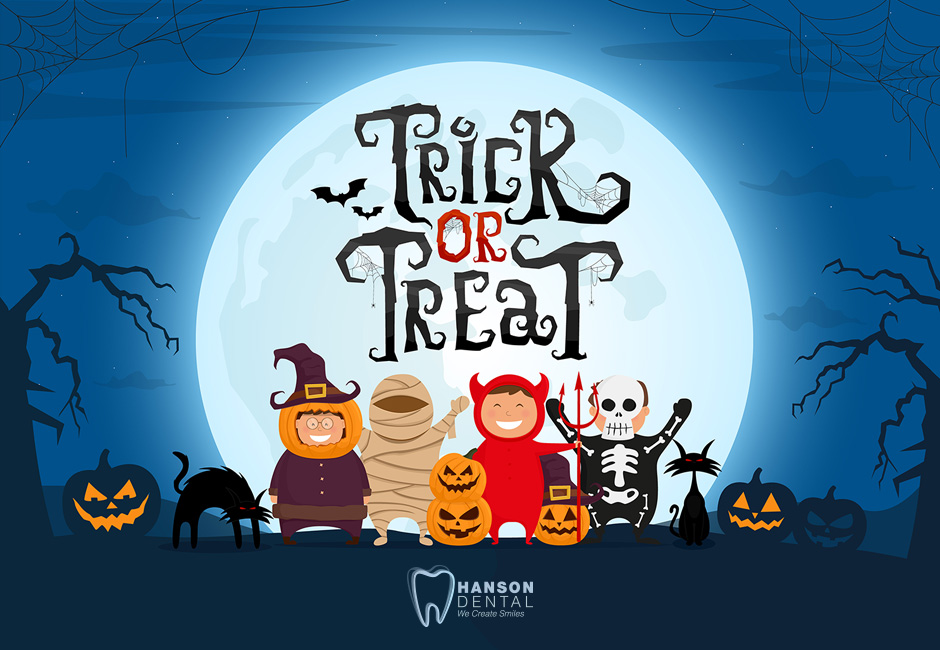 Trick or Treat, Brush Your Teeth, Give Them Tips to Enjoy Their Sweets