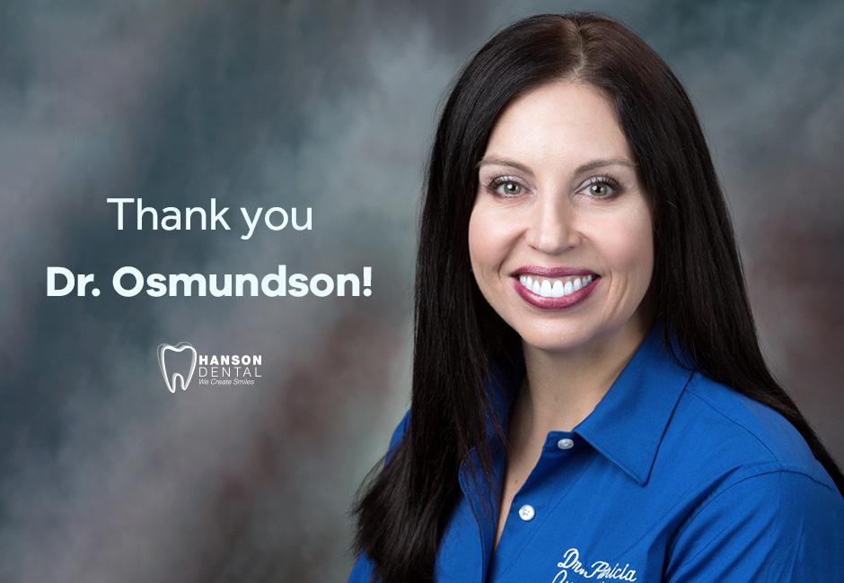 Thank you, Dr. Osmundson!