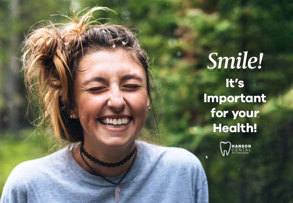 Smile! It's Important for your Health!